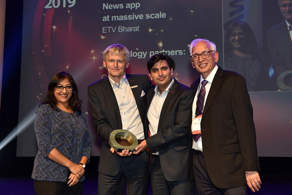 ETV Bharat: Winner in the 'Content Everywhere' category at IBC2019 Innovation Awards