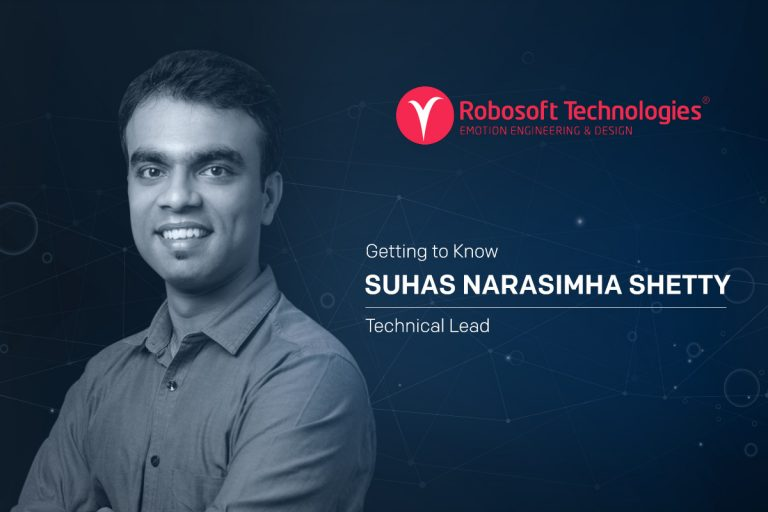 Getting to know Suhas Narasimha Shetty, Technical Leader